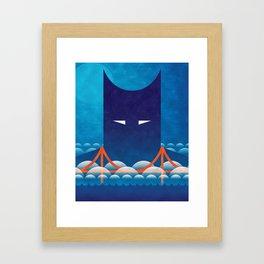 Rise of the Dark Night Framed Art Print
