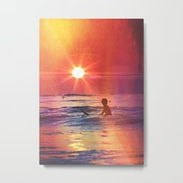 Vivid Summer Metal Print