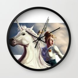 Arcane West Wall Clock