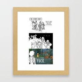 Bears on the Coast Framed Art Print
