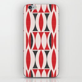 Seventies in Cherry Red (little) iPhone Skin