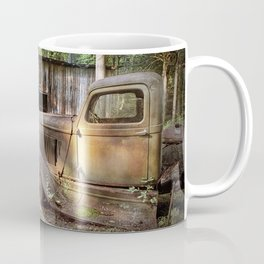 Old Farm Pickup Truck in the Smoky Mountains in Tennessee Coffee Mug