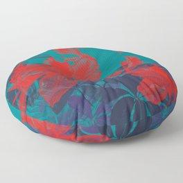 HIBISCUS II Floor Pillow