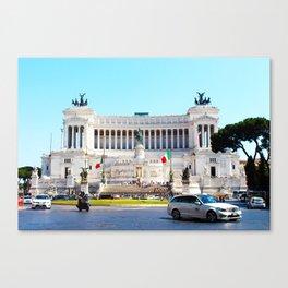 'IL VITTORIANO' (ROMA Series) Canvas Print