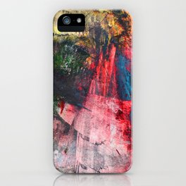 Fantasy painting. Dragon's breath. iPhone Case