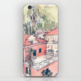 Baveno, Lake Maggiore, Northern Italy. iPhone Skin