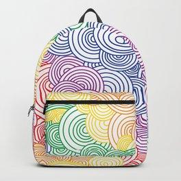 Rainbow Line of Cocaine Backpack
