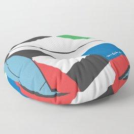 Kite—Sky Blue Floor Pillow
