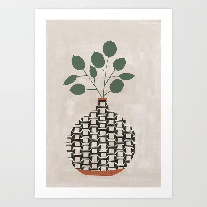 Karten Vase Kunstdrucke