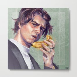 The Banana Man Metal Print