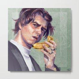 The Banana Man Metal Print