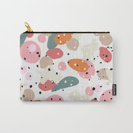 colorful shapes and figures Carry-All Pouch