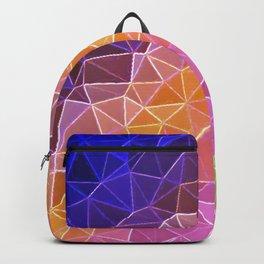crystalized rainbow Backpack
