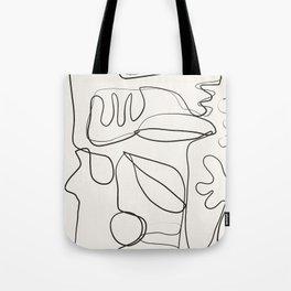 Abstract line art 10 Tote Bag