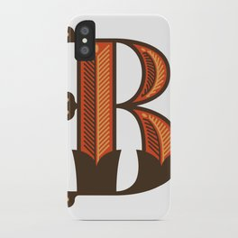 The Letter B iPhone Case