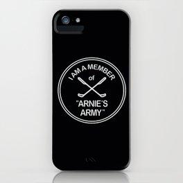 Arnies Army iPhone Case