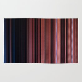 Digital Stripes Come Out To Play ver.1 Rug