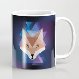 Galaxy Fox Coffee Mug