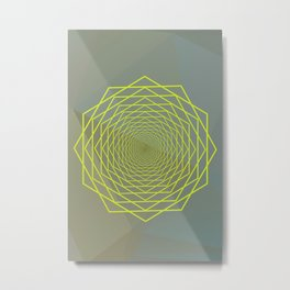 Geometrical 002 Metal Print