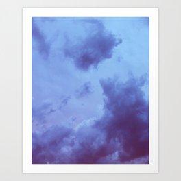 Cumulonimbus Dusk Art Print