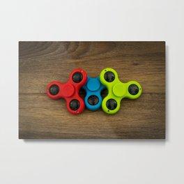 Spinners Metal Print
