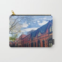 STOP For Brooklyn Heights Brownstone Red Brick Love Carry-All Pouch