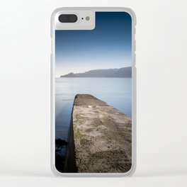 Toe Dipping Clear iPhone Case