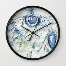 """""""Whispering Hope"""" Watercolor by Kit Sunderland Wall Clock"""