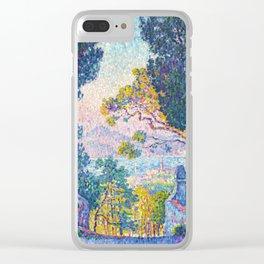 "Paul Signac ""Sainte-Anne (Saint-Tropez)"" Clear iPhone Case"