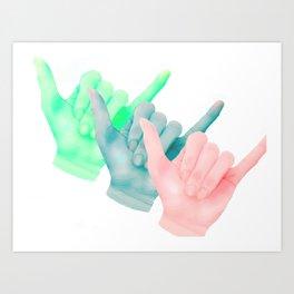 Rad Cubed Art Print