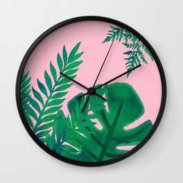 Planty Plants Wall Clock
