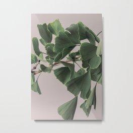 Leaf Print, Art Print, Botanical Print Metal Print