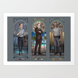 Art Nouveau - AoS Men Art Print