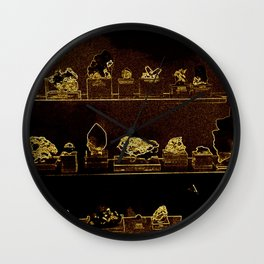 Mineral City I Wall Clock