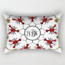 Personalized Crawfish Mandala Rectangular Pillow