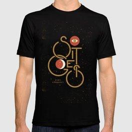"""""""So It Goes"""" — Kurt Vonnegut T-shirt"""