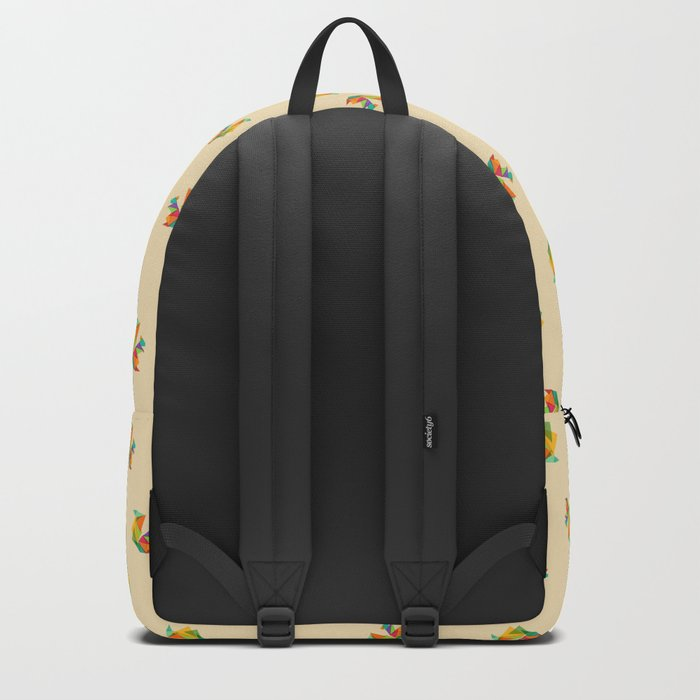 Fractal geometric Squirrel Backpack