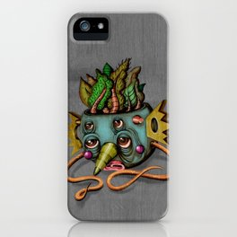 Tree Face iPhone Case