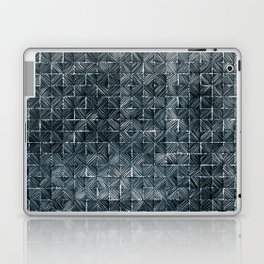 Ink Stitch: Aquamarine (dark) Laptop & iPad Skin