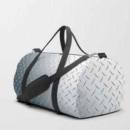 Diamond Plate Metal Pattern Duffle Bag