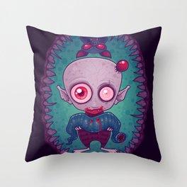 Nosferatu Jr. Throw Pillow