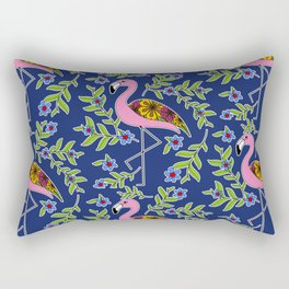 Flamingo pattern Rectangular Pillow