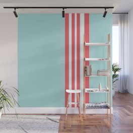 Seaside stripes Wall Mural