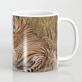 Ranthamboure Roadblock Tiger by Alan M Hunt Coffee Mug