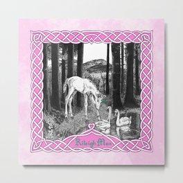 Fairytale Foal Metal Print