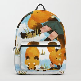 Snuggles with foxes Backpack