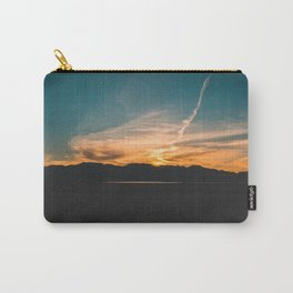 Sky on Fire || Dry Lake Bed Carry-All Pouch