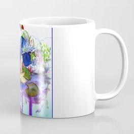 The blue lily water Coffee Mug
