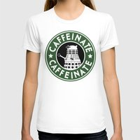 dalek T-shirts featuring Dalek Caffeinate by ThePhantomMoon