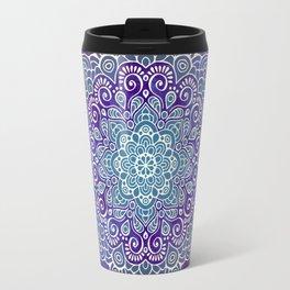 Mandala Floral Travel Mug